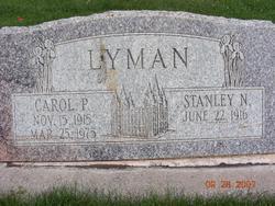 Carol <I>Porter</I> Lyman