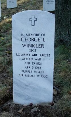 SSGT George Lewis Winkler
