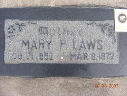 Mary Francis <I>Peterson</I> Laws