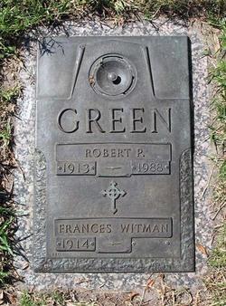 "Robert Pierce ""Bob"" Green"