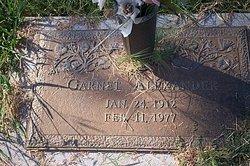 Garnet Alexander