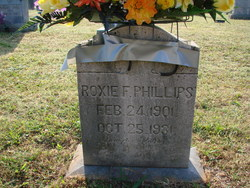Roxie <I>Fowler</I> Phillips