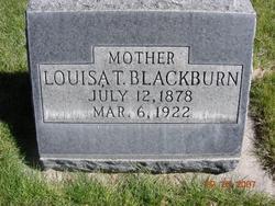 Louisa <I>Taylor</I> Blackburn