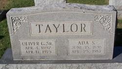 Ada Sabella <I>Harris</I> Taylor