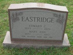 "Mary Ann ""Annie"" <I>Campell</I> Eastridge"