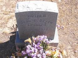 Jean Dorthea <I>Bryce</I> Leonard