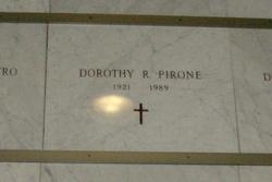 Dorothy Helen <I>Ruth</I> Pirone