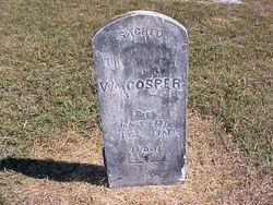 """Rev William Marion """"Wm."""" Cosper"""