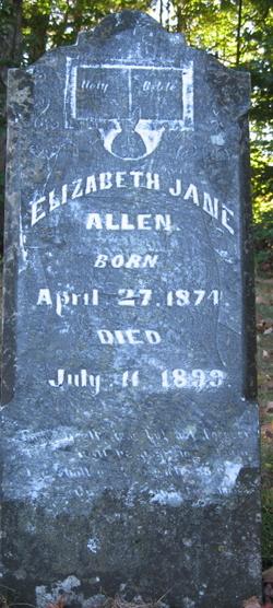 Elizabeth Jane Allen