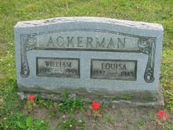 Hannah Louisa <I>Davis</I> Ackerman