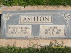 Rachel <I>Connell</I> Ashton