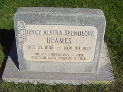 Dency Alvira <I>Spendlove</I> Beames