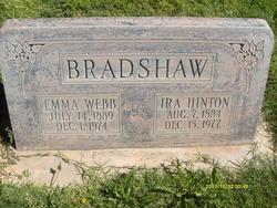 Emma Jarvis <I>Webb</I> Bradshaw