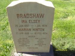 Marian <I>Hinton</I> Bradshaw