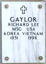 Richard Lee Gaylor