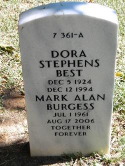 Dora <I>Stephens</I> Best