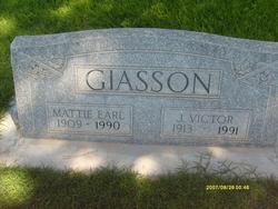 Mattie <I>Earl</I> Giasson