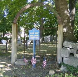 Eleazor Gedney Burial Ground