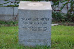Edna <I>Wallace</I> Hopper