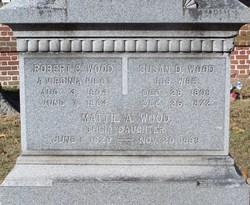 Mattie A. Wood