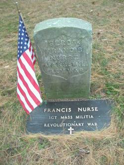 Sgt Francis Nurse