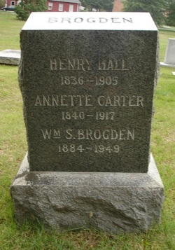 Annette <I>Carter</I> Brodgen