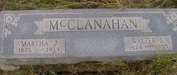 Martha Jane <I>Russell</I> McClanahan