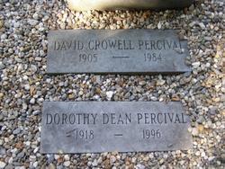 Dorothy <I>Dean</I> Percival