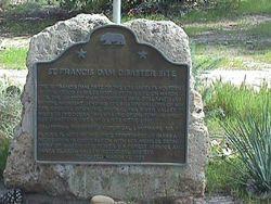 Saint Francis Dam Disaster Mass Grave