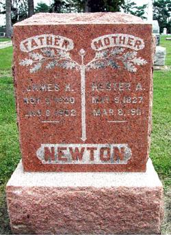 Hester Ann <I>McCance</I> Newton