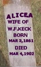 Alice A Duncan-Keck