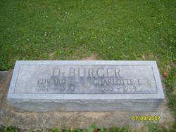Charlotte E <I>Brown</I> DeBurger