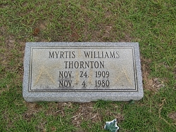 Myrtis <I>Williams</I> Thornton