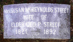 Susan Harriett <I>McReynolds</I> Street