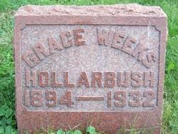 Grace <I>Weeks</I> Hollarbush