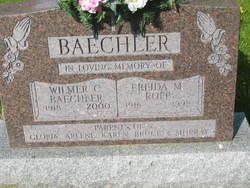 Frieda Mennetta <I>Ropp</I> Baechler