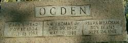 """William Thomas """"Bill"""" Ogden, Jr"""