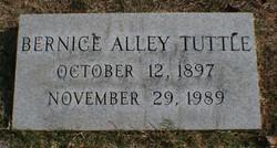 Dora Bernice <I>Alley</I> Tuttle