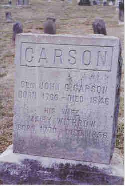 Gen John C. Carson
