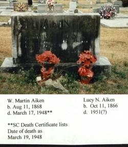 Lucy N. <I>Chappell</I> Aiken