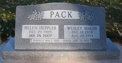 Wesley Malin Pack