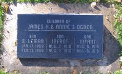 Infant Daughter Ogden