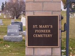Saint Mary's Pioneer Cemetery