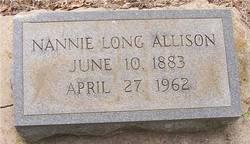 """Nanye Zetta """"Nannie"""" <I>Long</I> Allison"""