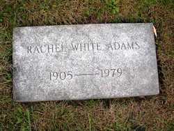 Rachel Leona <I>White</I> Adams