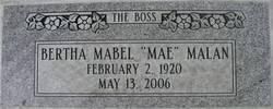 Bertha Mabel <I>Rankin</I> Malan