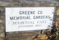 Greene County Memorial Gardens Cemetery