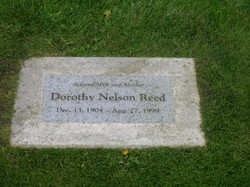 Dorothy <I>Nelson</I> Reed