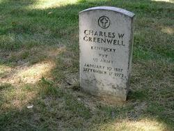 Private Charles W Greenwell