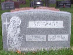 Anna <I>Klesmit</I> Schwabe